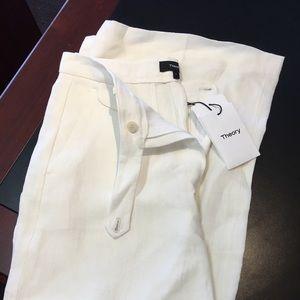 Brand new Theory linen pants